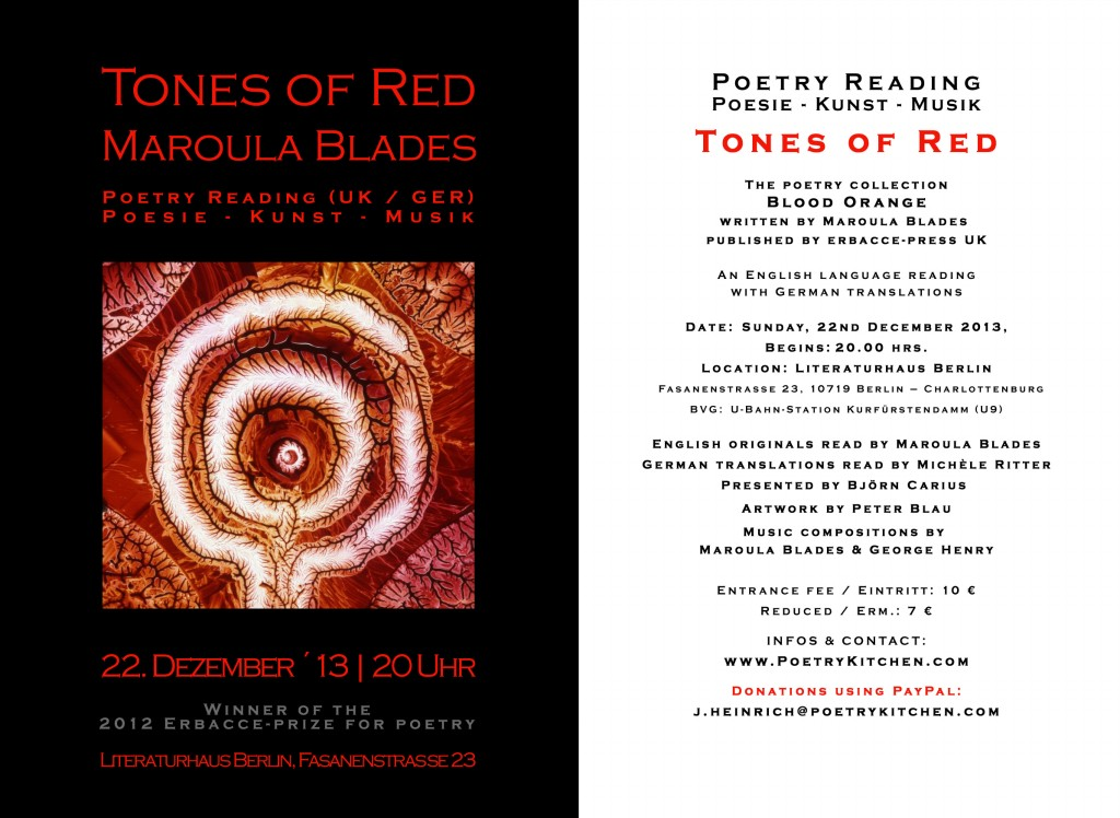 email flyer - Maroula Blades - Tones in Red s