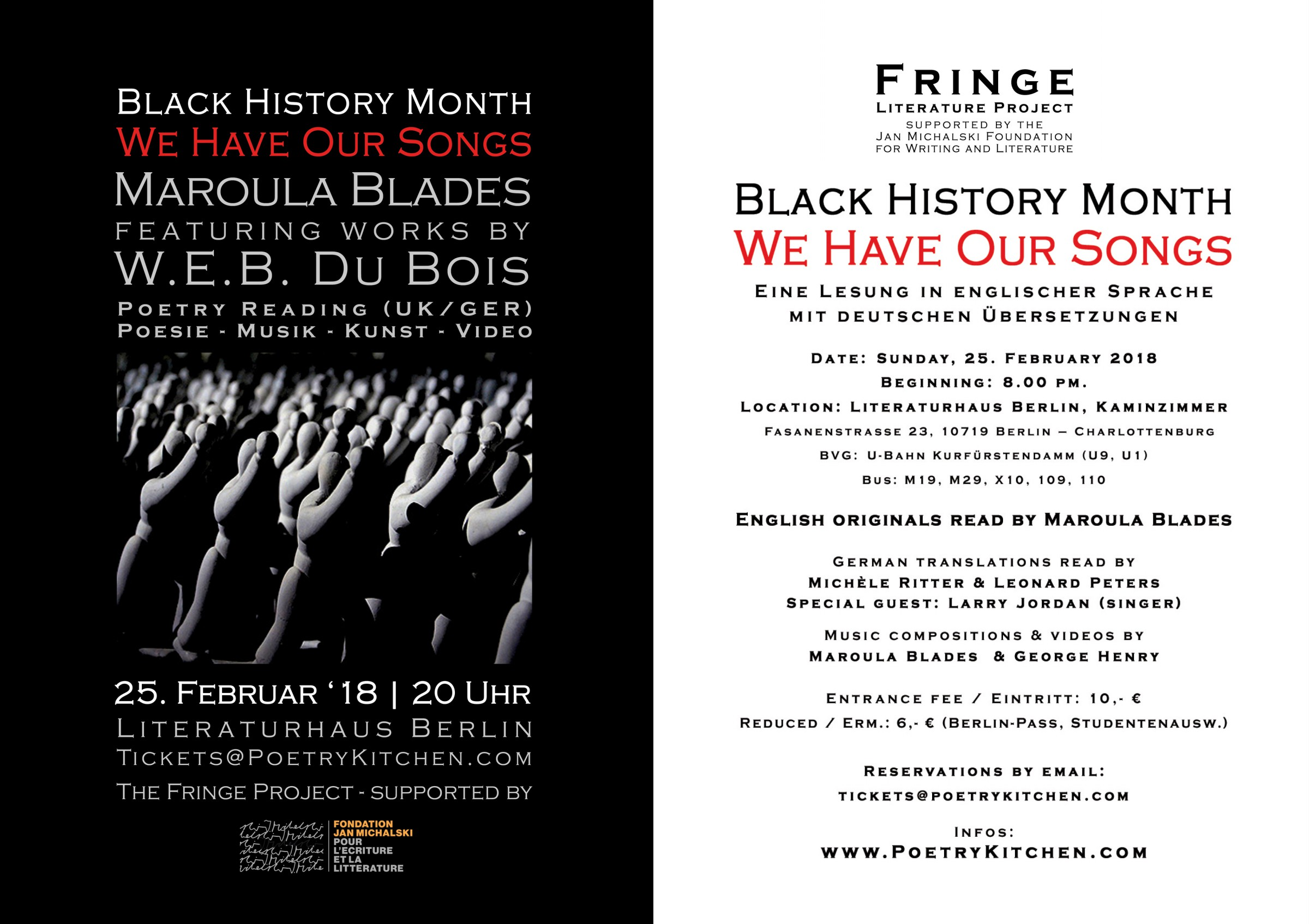email flyer - Maroula Blades - Black History Month 2017