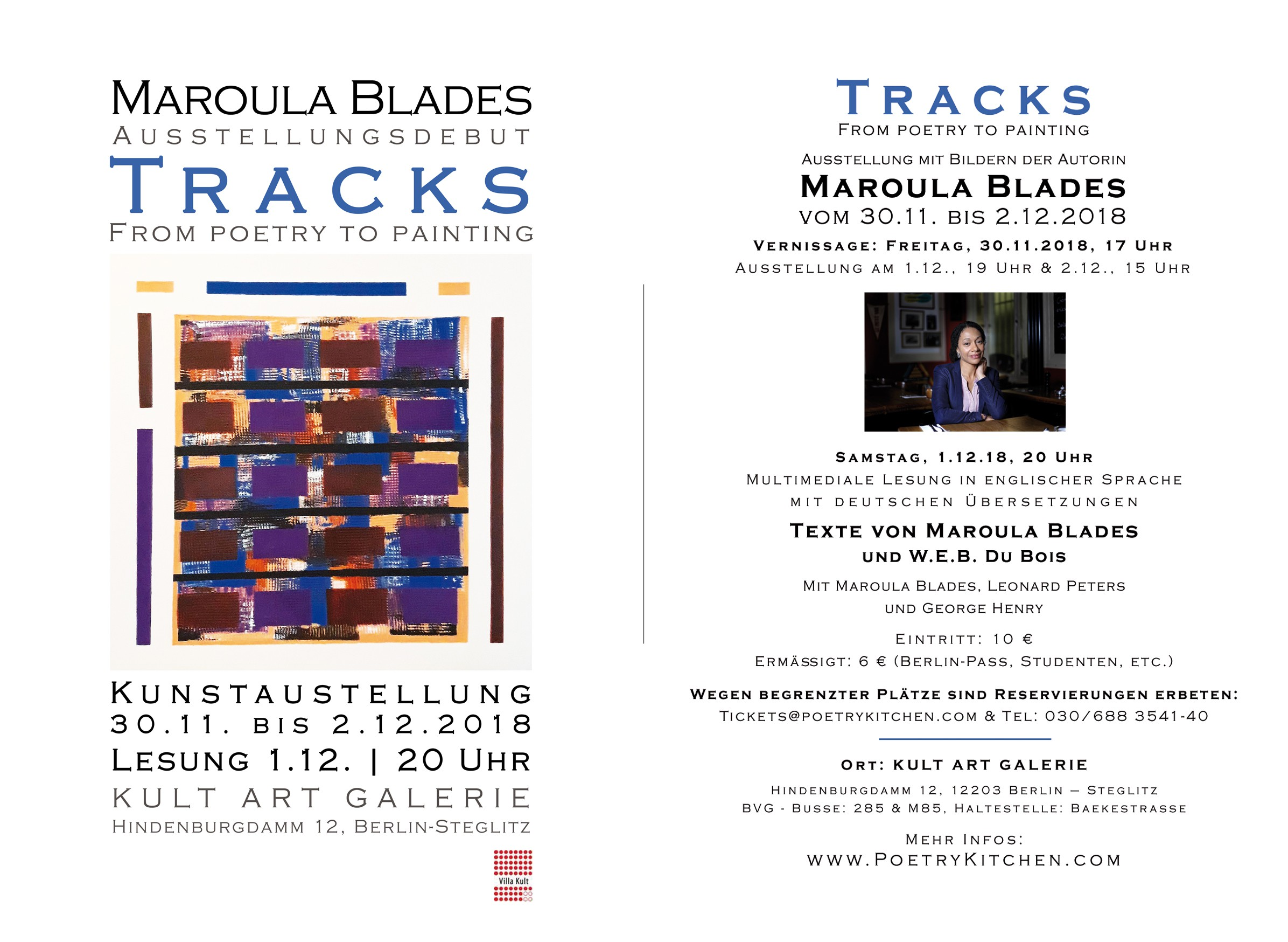 email flyer - Maroula Blades - TRACKS